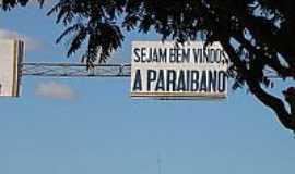Paraibano - Entrada da cidade