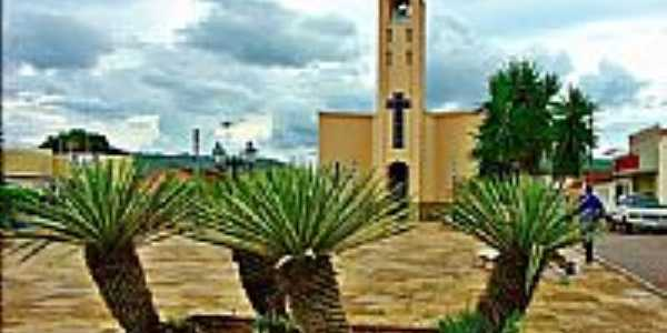 Igreja em Paraibano-Foto:Agamenon Pedrosa