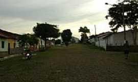Pastos Bons - Rua da Igreja em Pastos Bons-Foto:Cabral Lopes