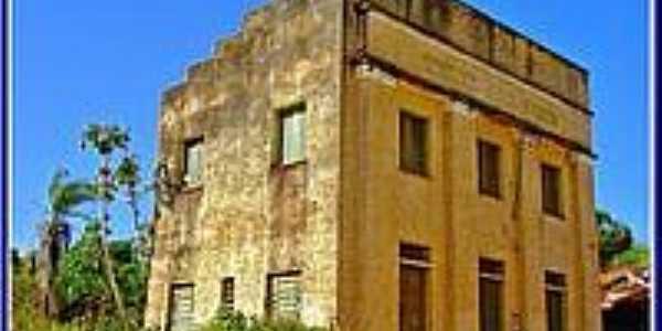 Antigo prédio dos Correios em Pastos Bons-Foto:Agamenon Pedrosa