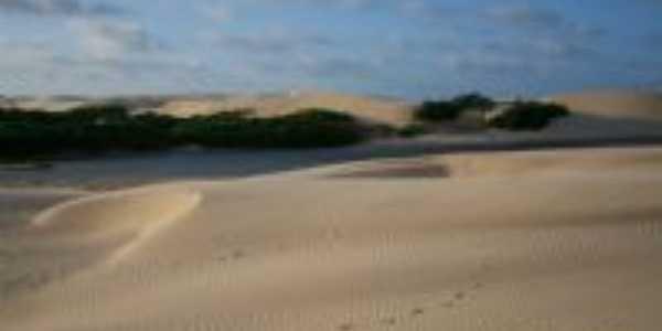 Entardecer nas dunas, Por ANDRÉ LUIZ MARCINEIRO MARQUES