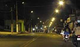 Pedreiras - Pedreiras-MA-Rua do Engenho à noite-Foto:Fábio Caetano