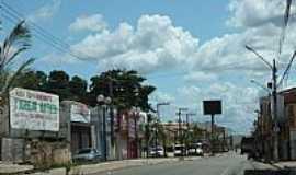 Pedreiras - Pedreiras-MA-Rua Principal no centro-Foto:Fábio Caetano
