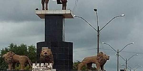Pedro do Rosário-MA-Monumento à Pedro do Rosário-Foto:facebook.com