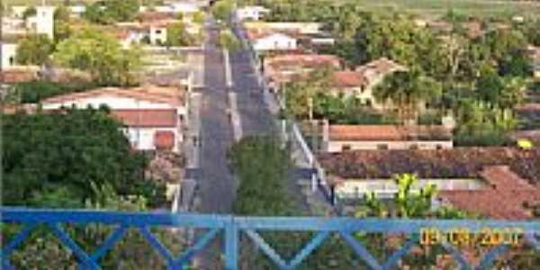 Vista da cidade por claumes