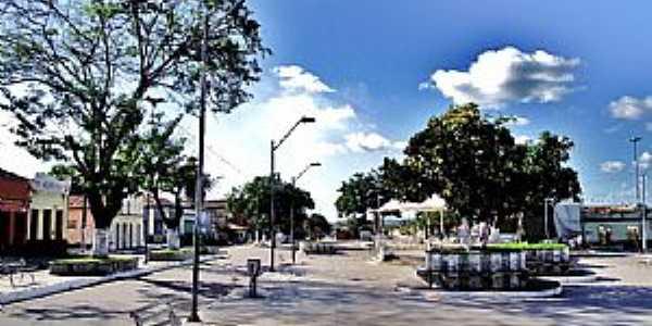 Pindaré-Mirim-MA-Praça central-Foto:mapio.net