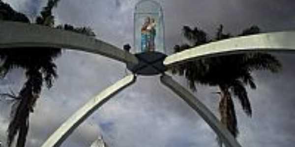 Pinheiro-MA-Imagem de N.Sra. nos arcos da Pra�a da Matriz-Foto:marco vinicius