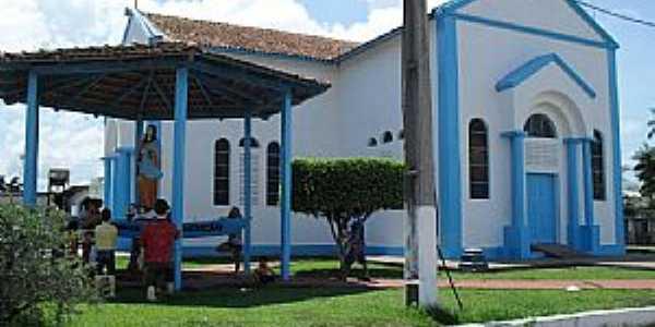 Nova Aripuanã-AM-Paróquia de N.Sra.da Conceição-Foto:portalriomadeira.webnode.com.br