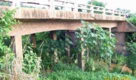 Poção de Pedras - Ponte do mafunbá - Por Migues Alves Cortez