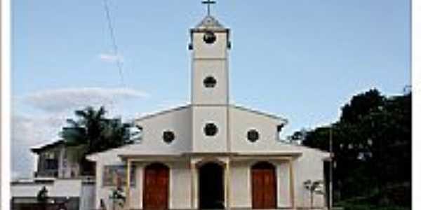 Igreja Matriz de Po��o de Pedras-MA-Foto:ConsueloLima