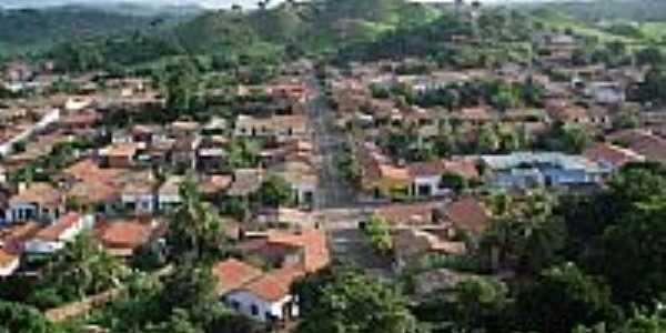 Vista da Rua Lino Machado em Po��o de Pedras-MA-Foto:100%PO��O