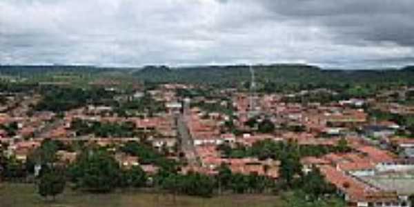 Vista parcial da cidade de Po��o de Pedras-MA-Foto:Lucyane Lima