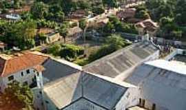 Porto Franco - Vista parcial � partir da torre da Radio S�o Francisco FM-Foto:Evaldo Jordan