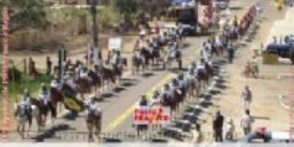 15ª Expofran - Cavalgada de Abertura, Por Dalton Rodrigues