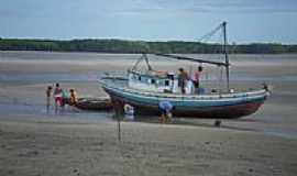 Porto Rico do Maranhão - Barco de pesca-Foto: Floriano Junior