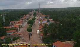 Porto Rico do Maranhão - Porto Rico do Maranhão-MA-Vista da Avenida Castelo Branco-Foto:Pedro Eneias