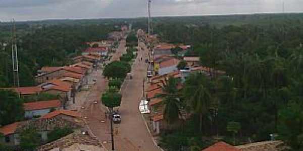 Porto Rico do Maranhão-MA-Vista da Avenida Castelo Branco-Foto:Pedro Eneias