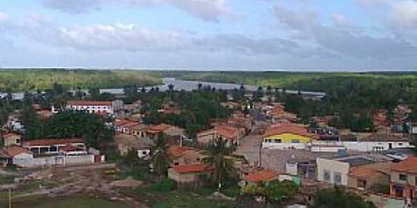 Porto Rico do Maranhão-MA-Vista parcial da cidade-Foto:Pedro Eneias