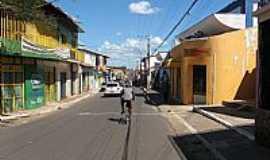 Presidente Dutra - Rua Luis Teixeira no centro de Presidente Dutra-MA-Foto:JOSE WILSON