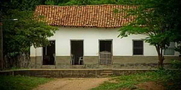 Ribeirão Azul-MA-Casa no Povoado-Foto:Alexander Galvão