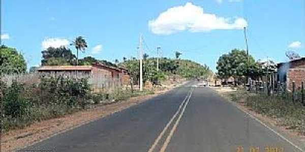 Santa Filomena do Maranhão-MA-Rodovia de acesso-Foto:JOSE WILSON