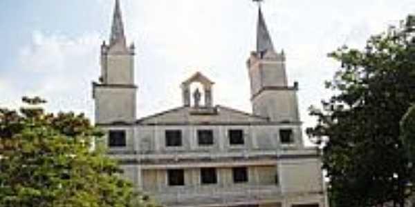Matriz de Santa Inês-Foto:Vicente A. Queiroz