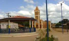 Santa Quit�ria do Maranh�o - pra�a da de santa quit�ria velha, Por Adelina Jesus