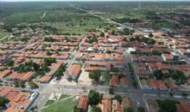 Santa Quit�ria do Maranh�o - Vista A�rea da cidade, Por Adelina Jesus