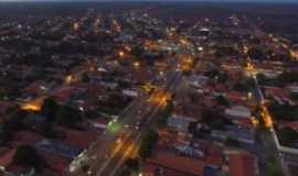 Santa Quit�ria do Maranh�o - vis�o a�rea de santa quit�ria do maranh�o, Por anonimo