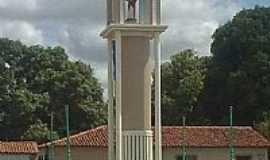 Santa Quitéria do Maranhão - Santa Quitéria do Maranhão-MA-Torre com a Imagem de N.Sra.dos Aflitos-Foto:Paulo_Carvalho_Santo…