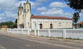 Santa Quit�ria do Maranh�o - Santa Quit�ria do Maranh�o-MA-Vista lateral da Par�quia de N.Sra.dos Aflitos-Foto:Paulo_Carvalho_Santo�