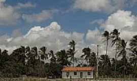 Santo Amaro do Maranhão - Casa na praia de Santo Amaro do Maranhão-MA-Foto:Thiago Haussig