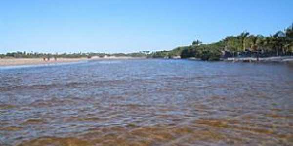 Rio Grande em Santo Amaro do Maranhão - por José Edmundo Medeiros