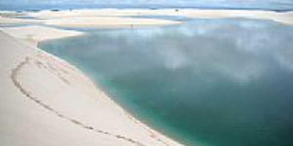 Lagoa da Gaivota em Santo Amaro do Maranhão-MA-Foto:Francisco Moisés - m…
