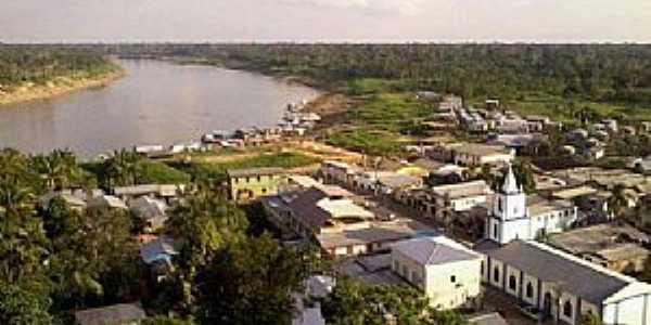 Pauini - Amazonas Vista do Rio Purus - Foto Pauini em Imagens