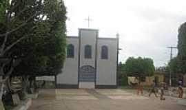 São Bento - Igreja de N.Sra.dos Remédios em São Bento-MA-Foto:Marcos.Soares