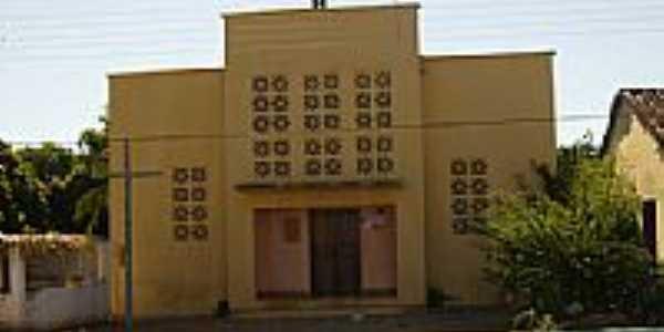 Igreja Matriz de São Domingos em São Domingos do Azeitão-Foto:aielado