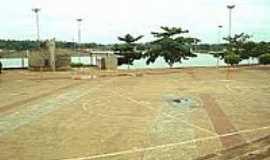 São Domingos do Maranhão - Praça do Farol às margens da Lagoa do Zé Feio-Foto:JOSE WILSON