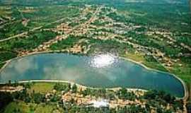 São Domingos do Maranhão - Vista aérea da Belíssima Lagoa do Zé Feio-Foto:JOSE WILSON