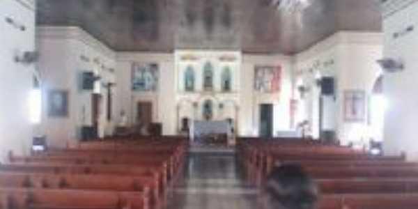 Parte interna da Igreja - S�o F�lix de Valuar , Por Ar�o Martins Silva