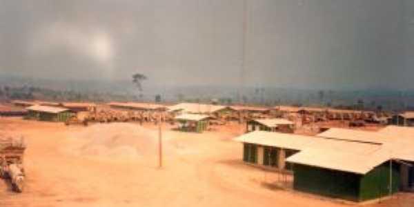 Acampamento da Firma Paranapanema, Brejão, em 1988, Construção da Ferrovia Norte Sul, Por joão rodrigues sousa filho