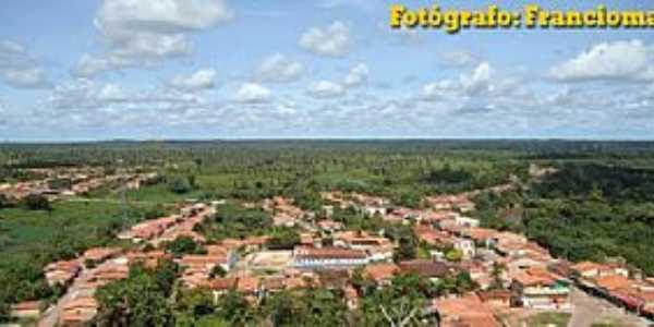 São João do Carú-MA-Vista da cidade-Foto:Franciomar