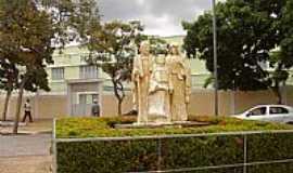 São José de Ribamar - São José do Ribamar-BA-Monumento da Sagrada Família-Foto:Parruco