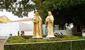 São José de Ribamar - São José do Ribamar-BA-Monumento na Praça da Matriz-Foto:Parruco