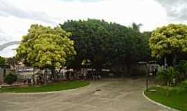 São José de Ribamar - São José do Ribamar-BA-Praça no centro da cidade-Foto:Parruco