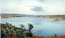 São José dos Basílios - Lago da Barragem Rio Flores-Foto:JOSE WILSON