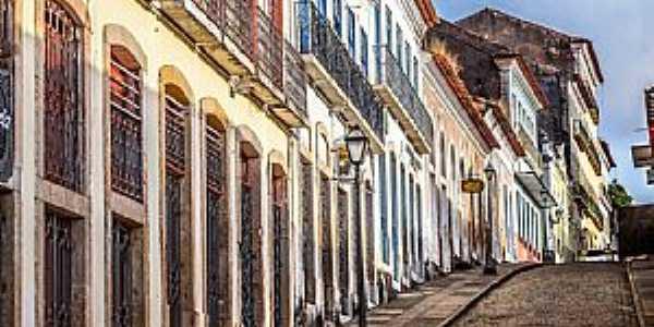 Casarões do Centro Histórico. Foto: Ruy Barros