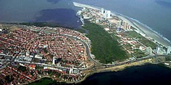 S�o Luis-MA-Vista a�rea da cidade-Foto:portosma.com.br