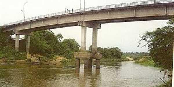 São Luis Gonzaga do Maranhão-MA-Ponte sobre o Rio Mearim-Foto:sergiopc12