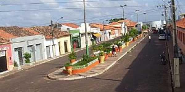 São Luis Gonzaga do Maranhão-MA-Praça da Bandeira-Foto:SAMUEL CABRAL